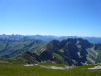Gipfelpanorama vom Großen Daumen