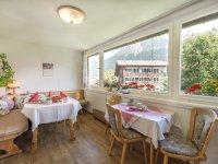 Bergbauern-Pension Frühstücksraum