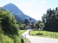 Ortseinfahrt aus Richtung Sonthofen