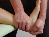 Physio am Fuß