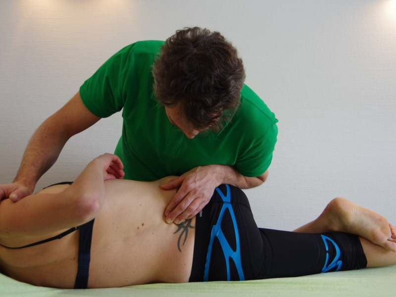 Physio am Rücken
