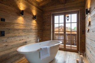 Freistehende badewanne alpzitt chalets burgberg