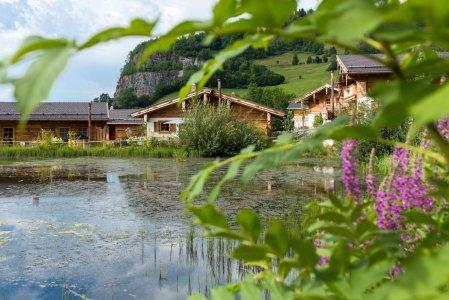 Chaletdorf sommerurlaub chalet ferienwohnung sauna allgaeu bayern natururlaub14