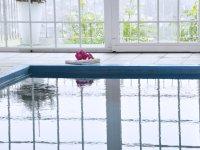 Schwimmbad Ausblick