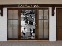 Fassade, Zeit und Raum und Atelier
