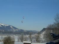 Ballonfahren im Januar