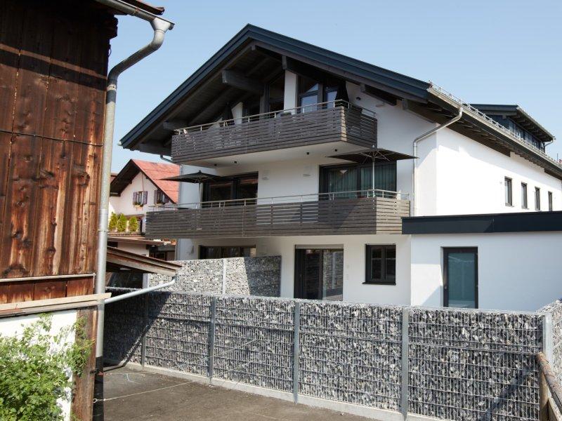 Südansicht mit herrlichem Balkon