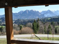 Aussicht aufs Nebelhorn