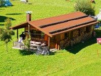 Ferienhaus Almrausch im Sommer