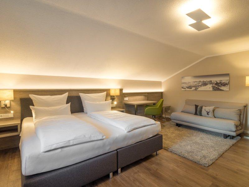 Schlafzimmer 1 mit Schlafcouch