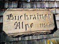 Buchrainer schild 1.129m