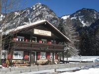Cafe Restaurant Christlessee in der Wintersonne