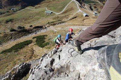 Klettersteig an der Kanzelwand