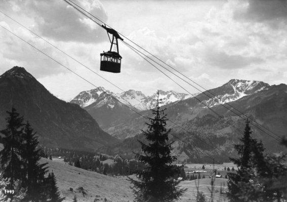Die alte Nebelhornbahn