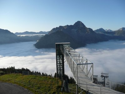Walmendingerhorn Panoramaaufzug
