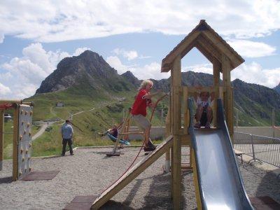 Spielplatz an der Kanzelwand