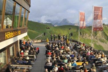 Oberstdorfer Musiksommer auf dem Nebelhorn