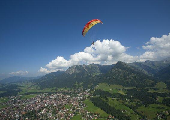 Hoch über Oberstdorf