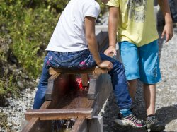 Teamwork am Burmiwasser