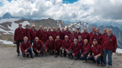 Montanara Chor auf dem Nebelhorn
