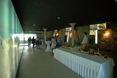 Felsenhalle in der Gipfelstation am Fellhorn