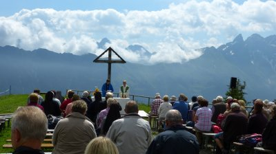 Bergmesse am Fellhorn