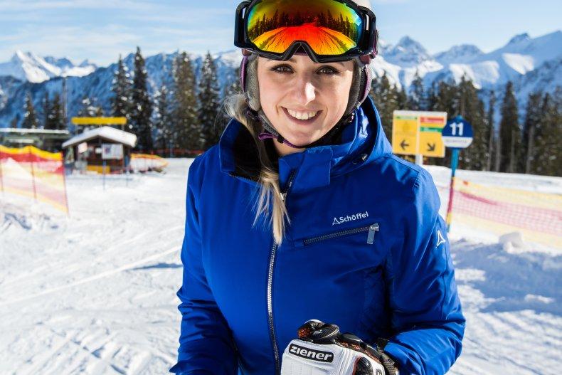 Freude am Skifahren