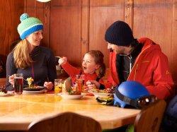Mittagessen mit Mama und Papa