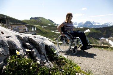 mit dem Rollstuhl am Nebelhorn