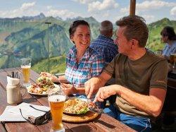 Mittagessen am Walmendingerhorn