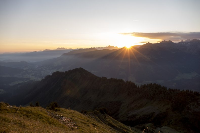 Sonnenaufgang am Walmendingerhron