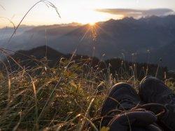 den Sonnenaufgang beobachten