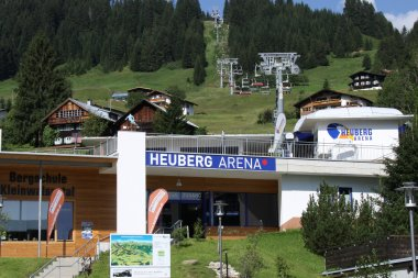 Heuberg Arena Talstation