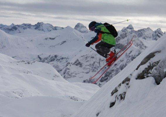 K2 Youngstars Challenge - Freeride Contest auf dem Nebelhorn