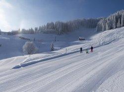 Skifahren am Heuberg