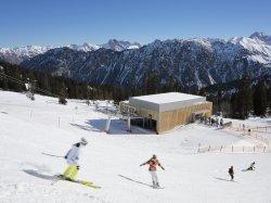 Skifahren an der Bierenwangbahn