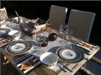 Platzhirsch - Frühstück auf der Terrasse