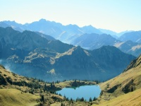 Unterwegs am Nebelhorn