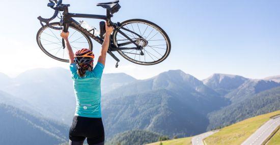 Hoch hinaus mit dem Rennrad in den Nockbergen in Kärnten