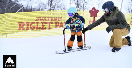 Burton Riglet Snowboarding