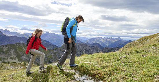 Panorama-Wanderung in den Allgäuer Alpen