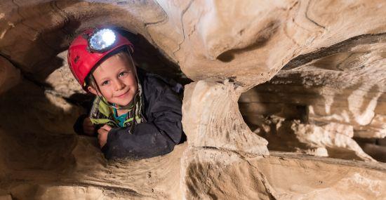 Marmor Schauhöhle eignet sich perfekt für einen Familienausflus