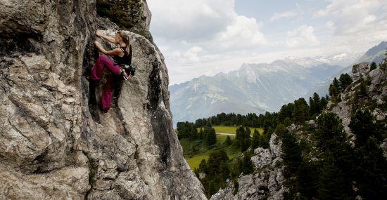 MayrhofnerBergbahnen Klettern am ActionbergPenken
