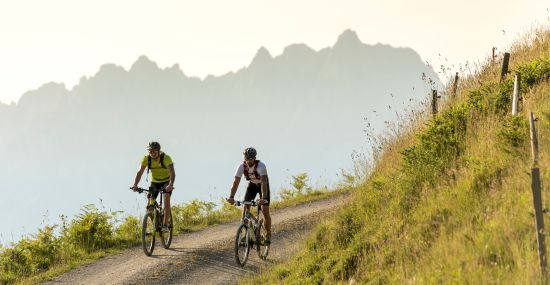 Mountainbiken rund um St. Johann in Tirol