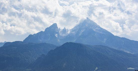 Der Watzmann im Berchtesgadener Land