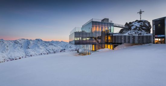 ice Q in Sölden: Das Gourmetrestaurant auf 3.048 m Seehöhe