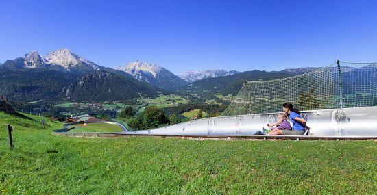 Fun & Action auf der Sommerrodelbahn am Obersalzberg