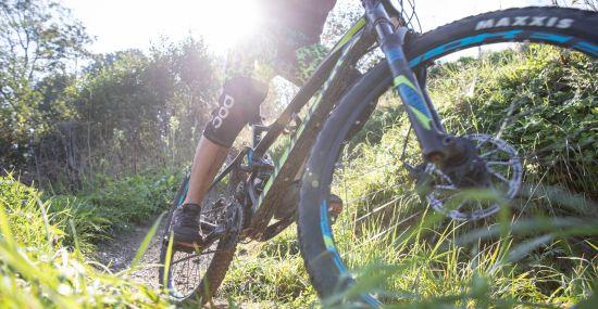 Sportlich unterwegs mit dem Bike in den Kitzbüheler Alpen