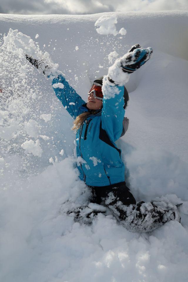 Schneespaß für die kleinen Entdecker