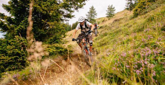Trails rund um Bad Kleinkirchheim
